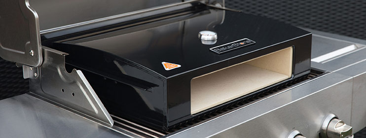Larger Gas Grills Into A Gourmet Pizza Oven